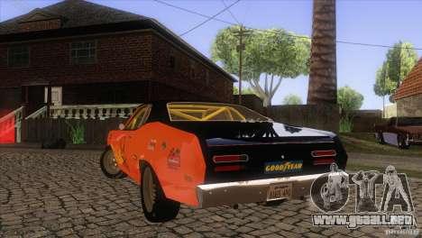 Plymouth Duster 440 para el motor de GTA San Andreas