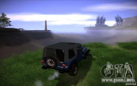 Mi configuración ENB v2 para GTA San Andreas séptima pantalla
