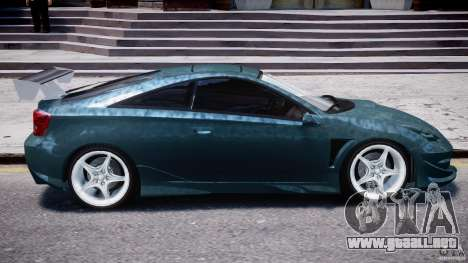 Toyota Celica Tuned 2001 v1.0 para GTA 4 vista desde abajo