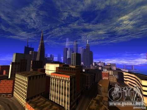 New San Fierro V1.4 para GTA San Andreas tercera pantalla