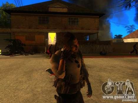 Animation Mod para GTA San Andreas sexta pantalla