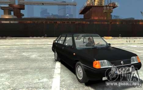 FSO Polonez Caro 1.4 16V para GTA 4 vista hacia atrás