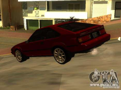 Toyota Celica Supra para GTA San Andreas left