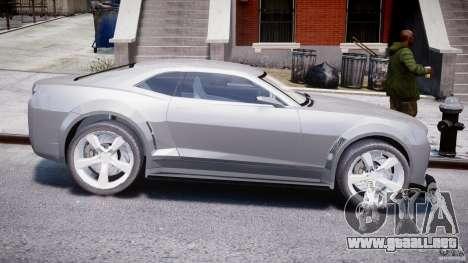 Chevrolet Camaro 2009 para GTA 4 vista hacia atrás