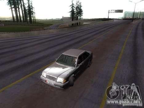 Mercedes-Benz E500 W124 para la visión correcta GTA San Andreas