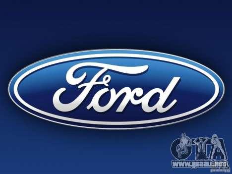Pantallas de carga Ford para GTA San Andreas segunda pantalla