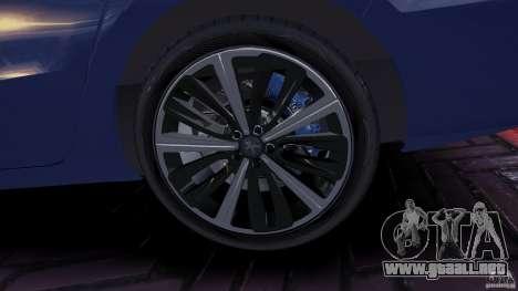 Peugeot 508 Final para GTA 4 vista hacia atrás