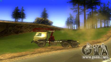 Kamaz para GTA San Andreas left