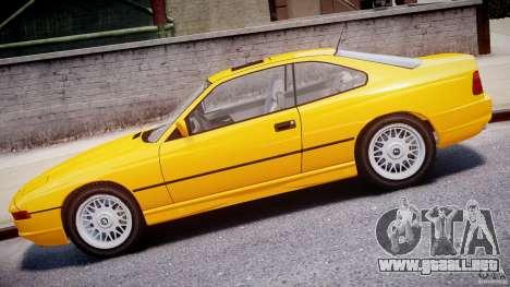 BMW 850i E31 1989-1994 para GTA 4 left