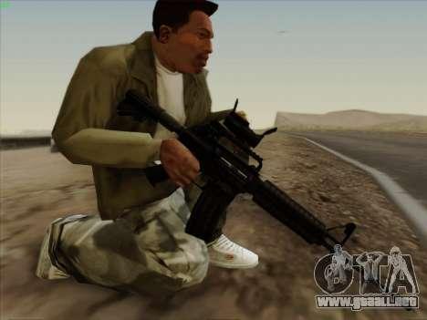 Colt Commando Aimpoint para GTA San Andreas