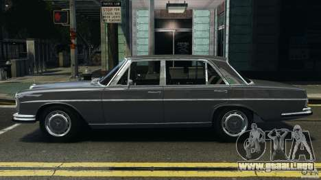 Mercedes-Benz 300Sel 1971 v1.0 para GTA 4 left