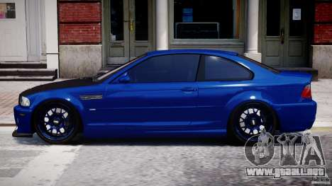 BMW M3 E46 Tuning 2001 para GTA 4 left