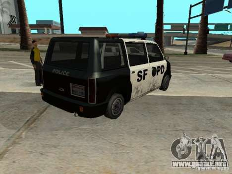 Moonbeam Police para GTA San Andreas left