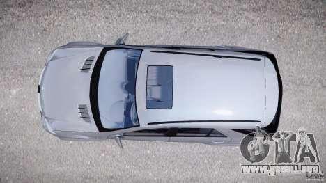 Mercedes-Benz ML63 AMG v2.0 para GTA 4 visión correcta