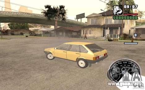 VAZ 21093i para visión interna GTA San Andreas