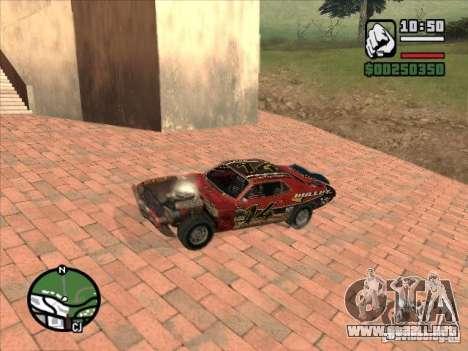 FlatOut bullet para GTA San Andreas vista hacia atrás