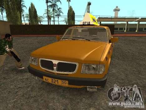 GAZ 3110 Taxi para GTA San Andreas