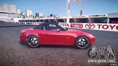 Honda S2000 2002 v2 para recocido para GTA 4 left