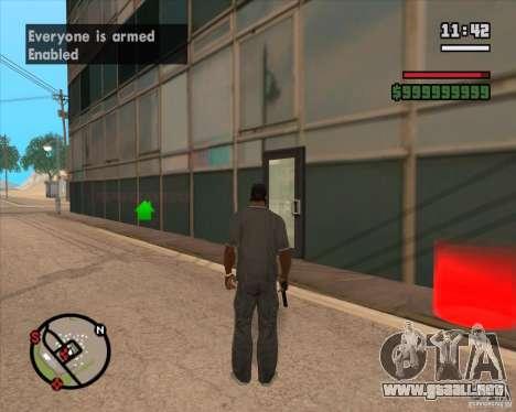 CJ-alcalde para GTA San Andreas segunda pantalla