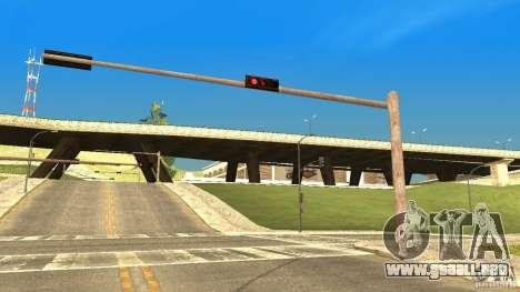 Semáforos oxidados para GTA San Andreas segunda pantalla
