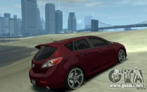 Mazda 3 MPS 2010 para GTA 4 visión correcta
