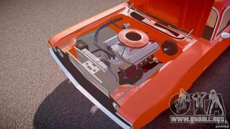 Dodge Challenger v1.0 1970 para GTA 4 vista desde abajo