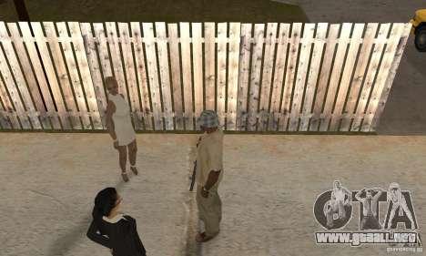 Hipnosis en San Andreas para GTA San Andreas quinta pantalla