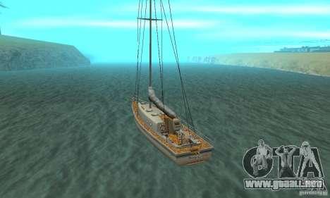 Marquis HD para GTA San Andreas vista posterior izquierda