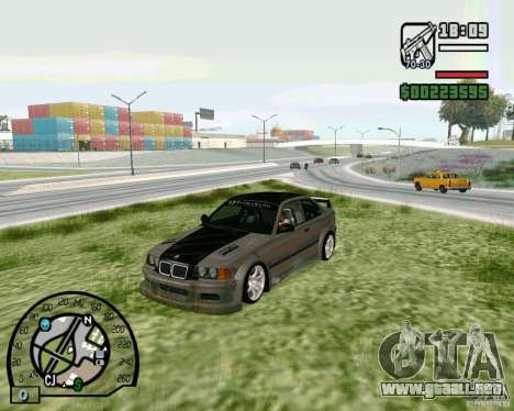BMW E36 Wide Body Drift para GTA San Andreas