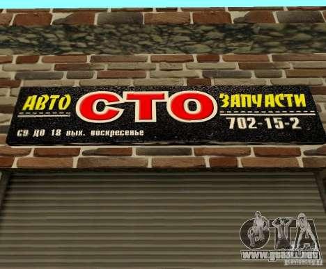 New Transfender: CTO para GTA San Andreas sucesivamente de pantalla