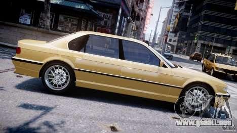 BMW 750i v1.5 para GTA 4 left