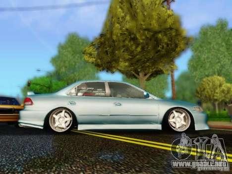 Honda Accord 2001 para GTA San Andreas vista posterior izquierda