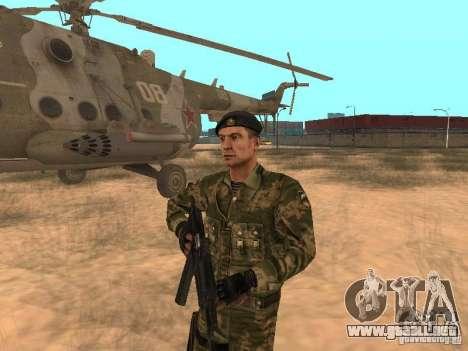 Comando soviético para GTA San Andreas