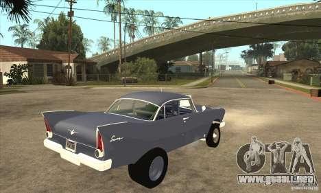 Plymouth Savoy Gasser 1957 para la visión correcta GTA San Andreas