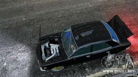Mazda RX3 para GTA 4 vista interior