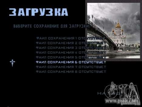 Pantalla de arranque de Moscú para GTA San Andreas décimo de pantalla