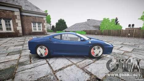Ferrari F430 v1.1 2005 para GTA 4 left