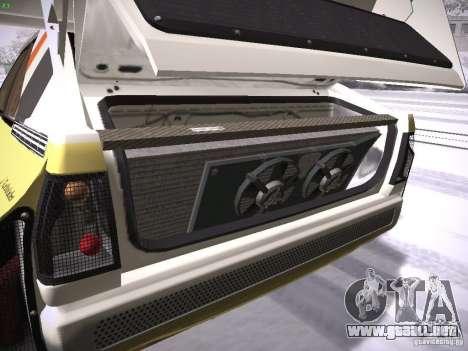 Audi Quattro Pikes Peak para visión interna GTA San Andreas