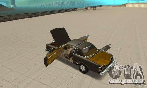 Chrysler Le Baron 1978 para visión interna GTA San Andreas