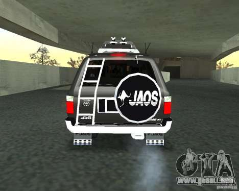 Toyota Surf v2.1 para vista lateral GTA San Andreas
