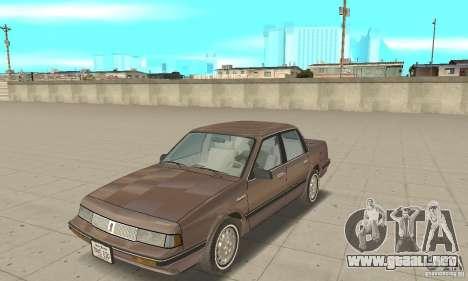 Oldsmobile Cutlass Ciera 1993 para GTA San Andreas left