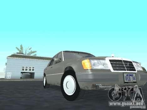 Mercedes-Benz 250D para GTA San Andreas vista hacia atrás