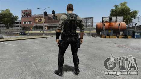 Sam Fisher v8 para GTA 4 tercera pantalla