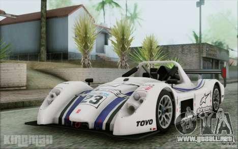 Radical SR3 RS 2009 para la vista superior GTA San Andreas