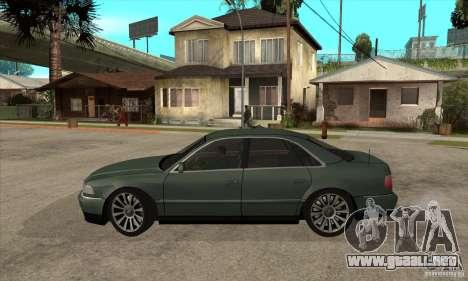 Audi A8 Long 6.0 2000 para GTA San Andreas left