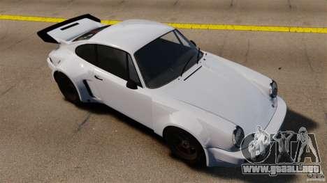 Porsche 911 Carrera RSR 3.0 Coupe 1974 para GTA 4 visión correcta