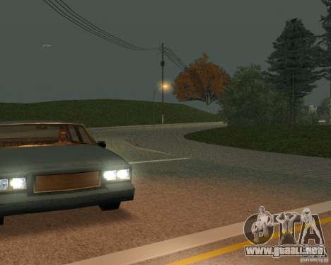 Nuevos caminos en San Fierro para GTA San Andreas sexta pantalla
