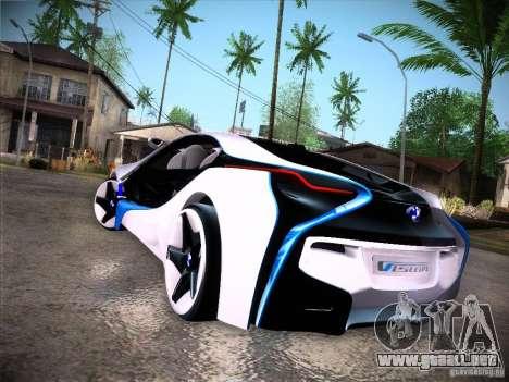 BMW Vision Efficient Dynamics I8 para la visión correcta GTA San Andreas