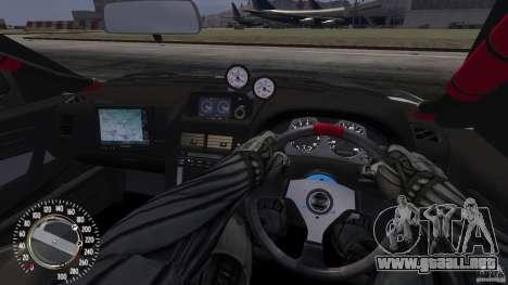 Nissan SkyLine R34 GT-R V-spec II para GTA 4 visión correcta