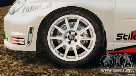 Subaru Impreza WRX STI N12 para GTA 4 vista interior